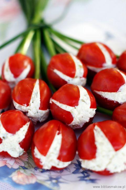 Tulipany zpomidorków
