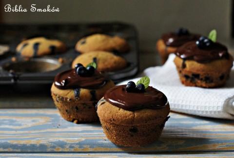 Muffinki, babeczki bez glutenu ijajek, alezjagodami;)